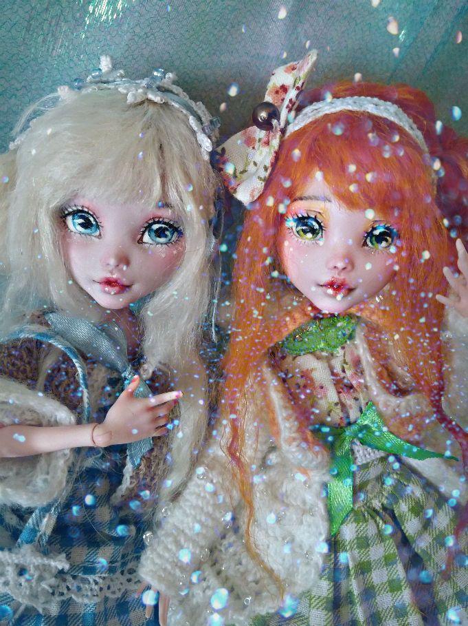 "OOAK Custom Repaint Monster High Doll ""Icy"" Exclusive Limited Box | eBay"