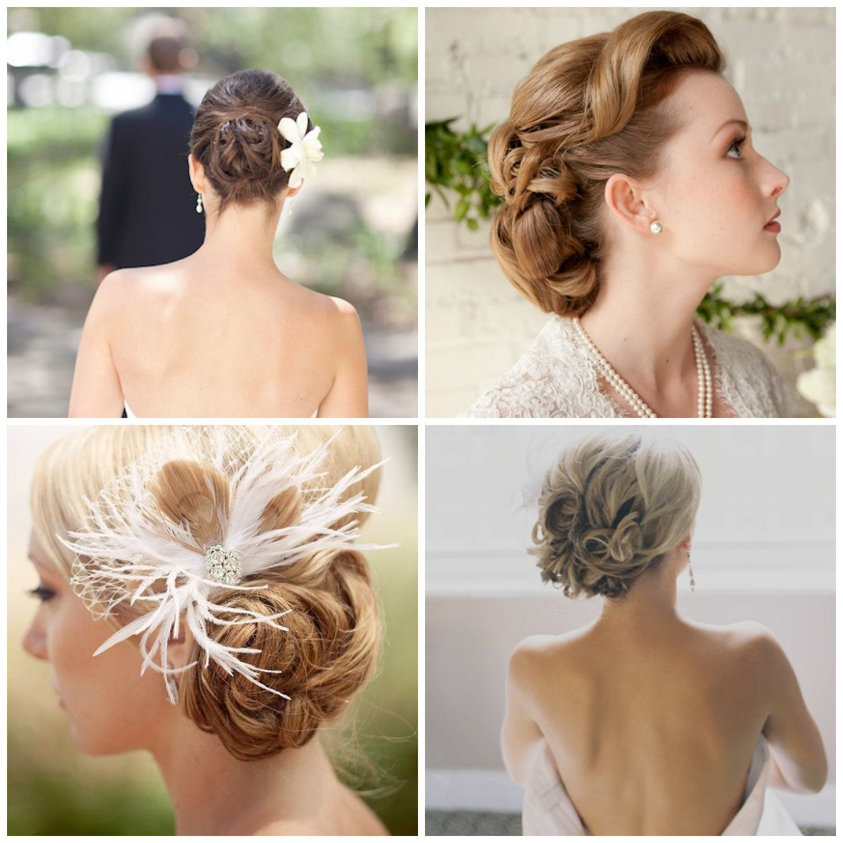 1000 Images About Mariage Coiffure On Pinterest Updo Wedding