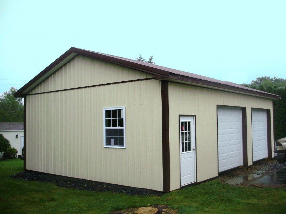 """Building Dimensions 24' W x 32' L x 10' 4"""" H (ID 357"""
