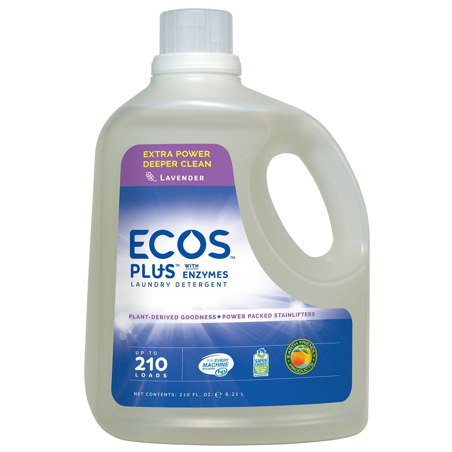Ecos Plus With Enzymes 210 He Loads 210 Fl Oz Sam S Club Enzyme Laundry Detergent Laundry Detergent Enzymes