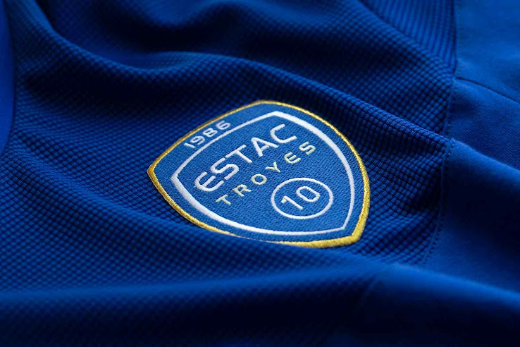 Le Coq Sportif Estac Troyes 19 20 Home Away Kits Released Footy Headlines Home And Away Troyes Kit