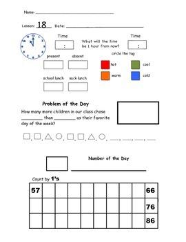 2nd Grade Saxon Math Meeting Forms   Math, Worksheets and Students