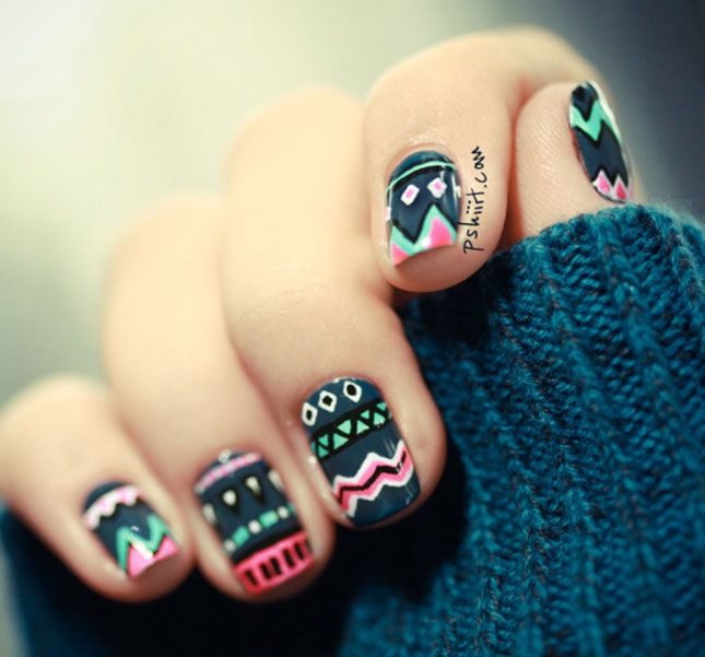 intricate nail designs - Google Search | nails | Pinterest