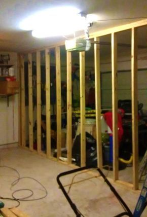 Garage Conversion into a spare room - front of garage spared for so ...