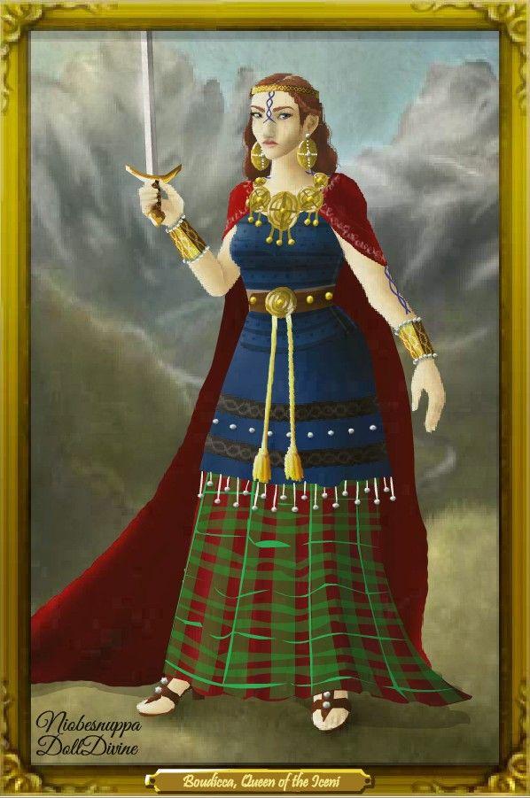 4b7ff18bc Boudicca's Portrait by LadyAquanine73551 on deviantART | Priestesses ...