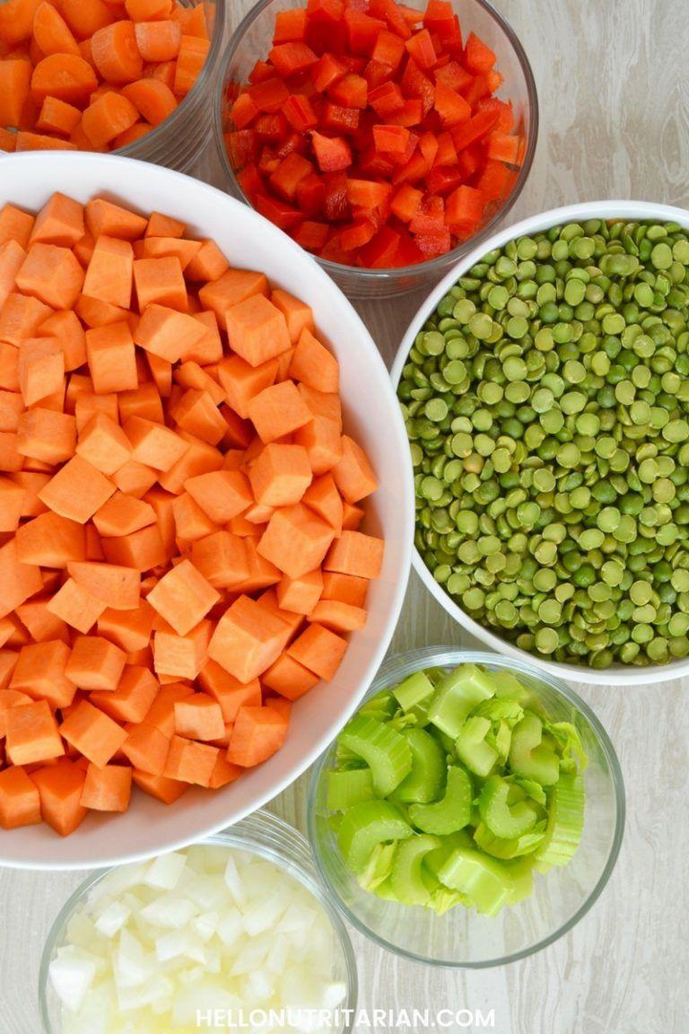 Split Pea & Sweet Potato Soup Recipe Sweet potato soup