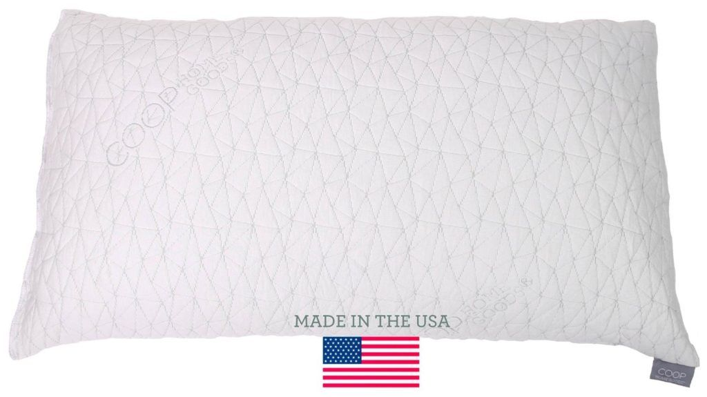 Improved design adjustable shredded memory foam pillow