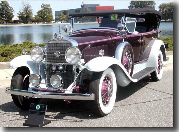 1931 LaSalle Phaeton - (LaSalle nd marketed by General Motors ...