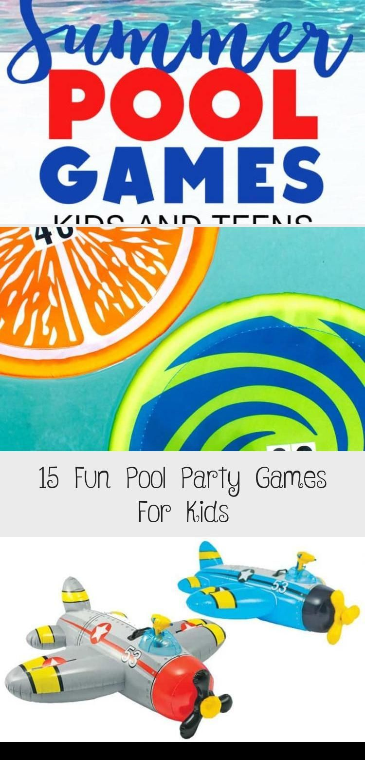 These fun pool games for kids and teens will keep them