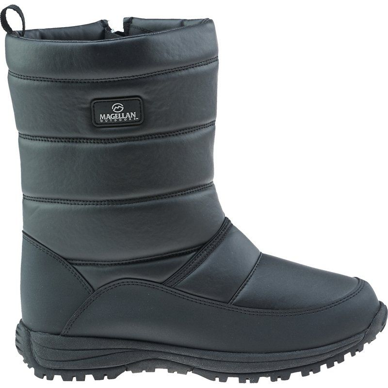 Magellan Outdoors Adults' Winter Snow Boots Black, 06 / 07