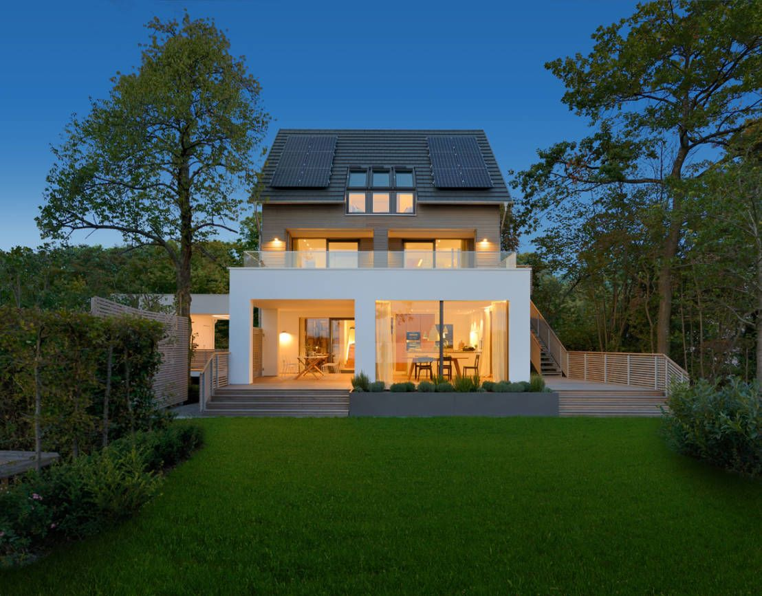 Lakehouse design tips living space of 173sqm   House building, Haus ...