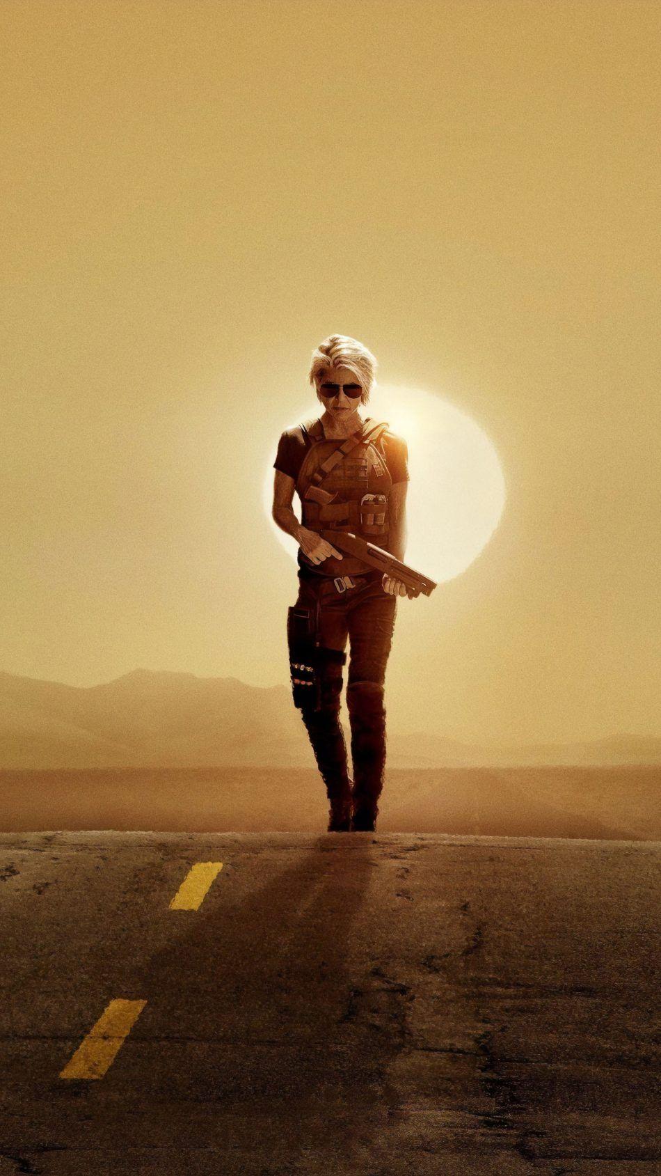 Linda Hamilton In Terminator Dark Fate 2019 With Images