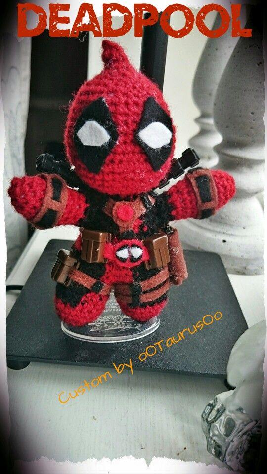 CUSTOM CROCHET DEADPOOL | Amigurumi - crochet in 3D | Pinterest ...