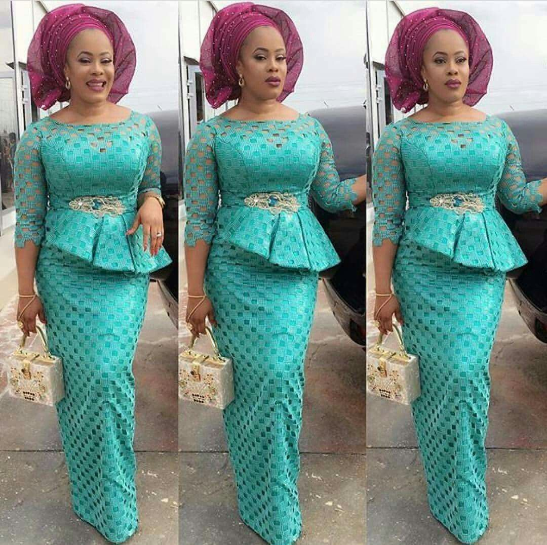 Lace dress nigeria  Pin by Oluwafunmike Kanjuni on funky style  Pinterest  Africans