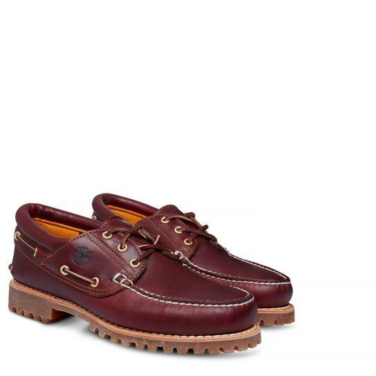 Chaussure classique à 3 œillets et semelle crantée pour
