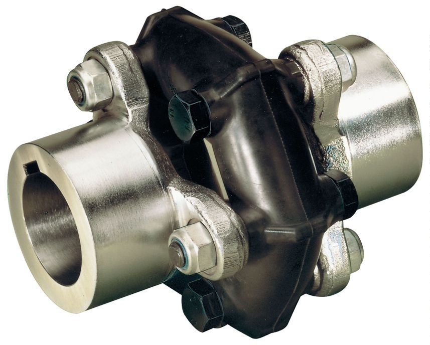 Flexible Coupling Is Used For Joining The Rotating Members