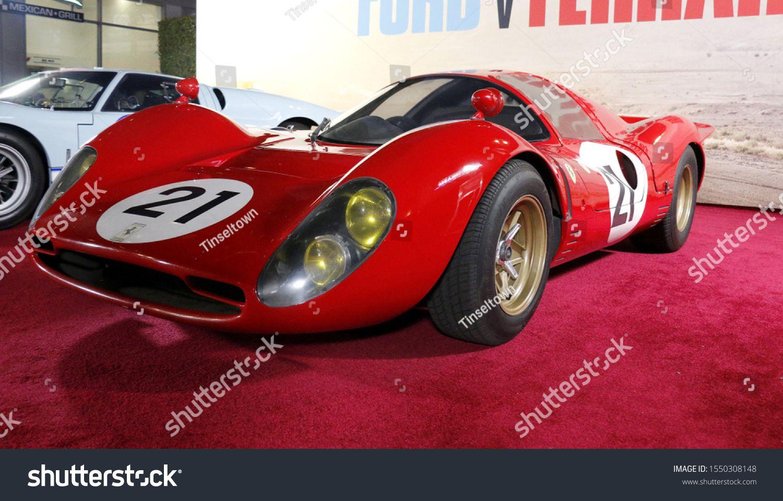 1966 Ferrari P3 At The Los Angeles Premiere Of Ford V Ferrari