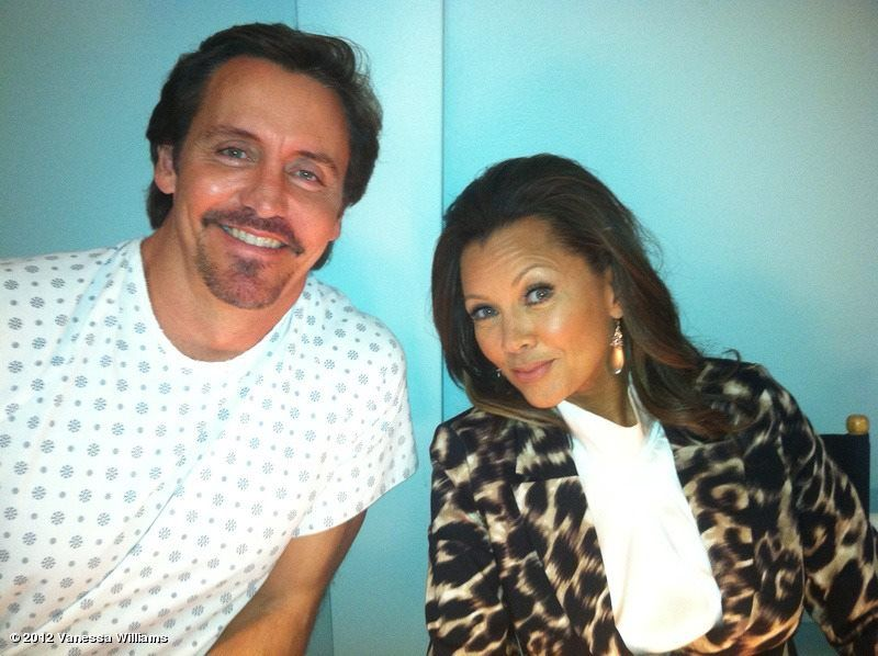 Charles Mesure Ben Faulkner And Vanessa Williams Renee Perry From Desperate Housewives Desperate Housewives Vanessa Williams Renee