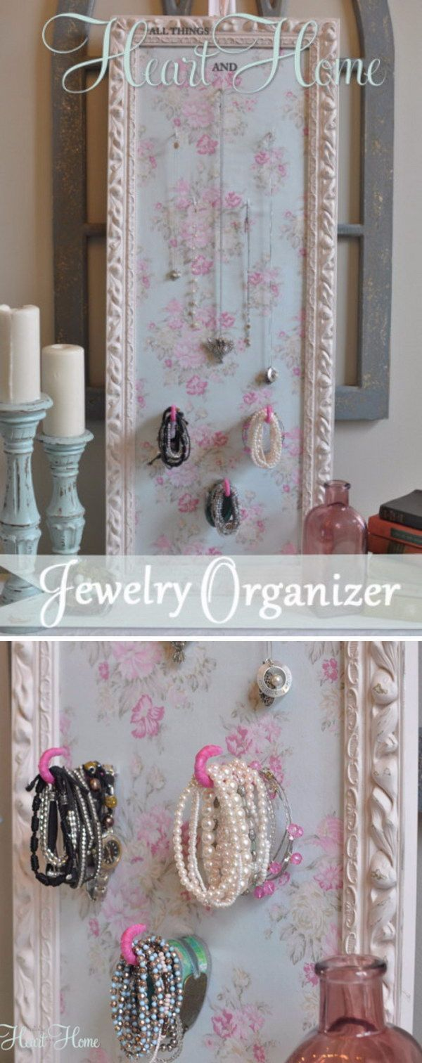 52 Awesome Shabby Chic Decor Diy Ideas And Projects Frames - Manualidades-shabby-chic