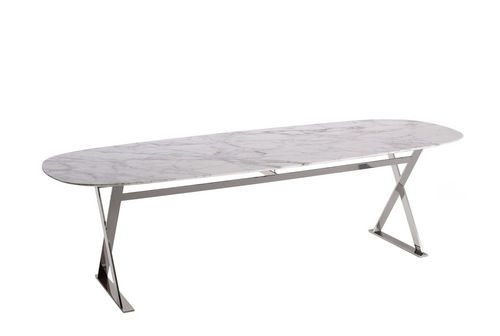Tavolo Maxalto ~ Contemporary marble table by antonio citterio pathos maxalto