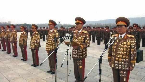 Image result for north korea  military leaders