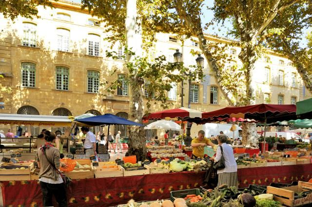 Shopping in a local market is one of the great pleasures of France and Provence…