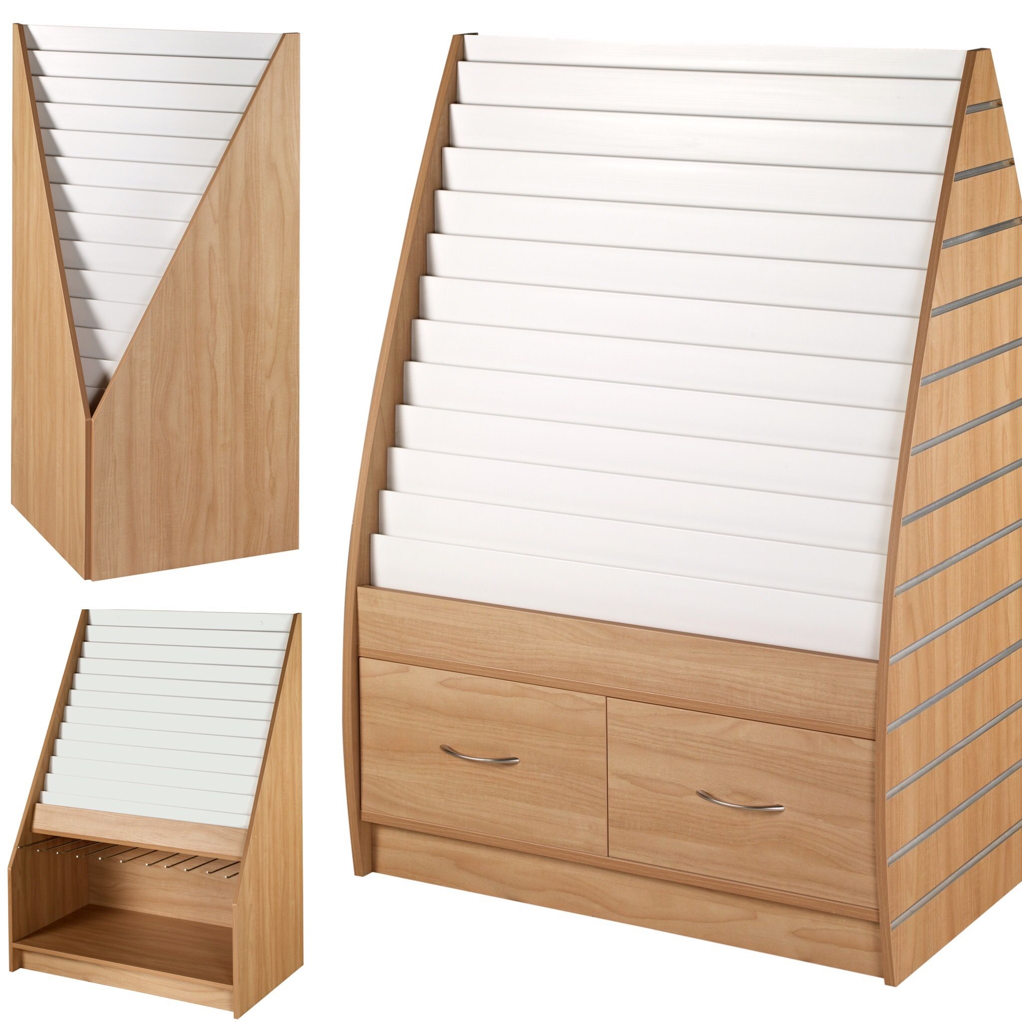 Card racks low cost quality card display stands choose your card racks low cost quality card display stands choose your preferred colour or wood finish and let us create the perfect greeting card stands to suit m4hsunfo