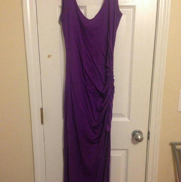 VENUS Maxi Dress VENUS Purple Maxi Dress Split on Side venus Dresses Maxi