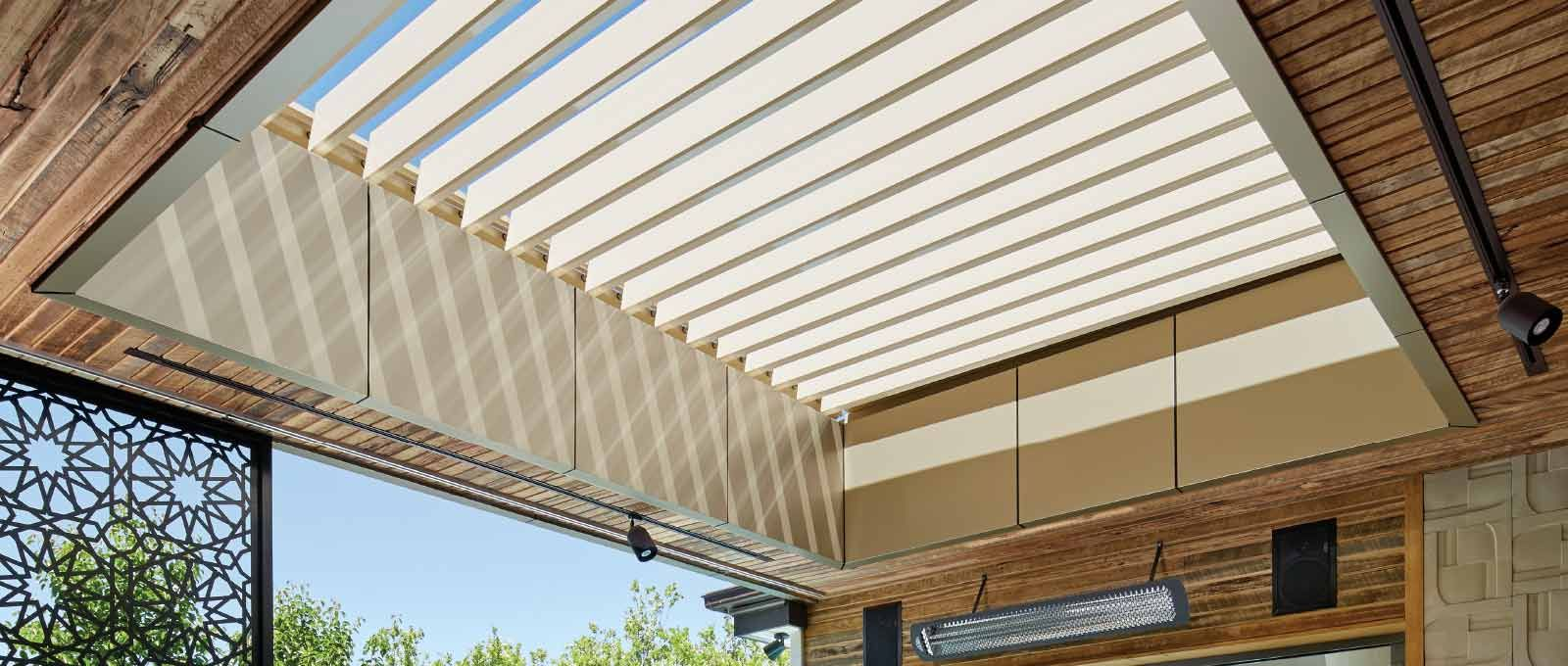 Take Control Of The Weather With The Innovative Stratco Sunroof Opening  Louvre Roof Verandah, Patio Or Carport.