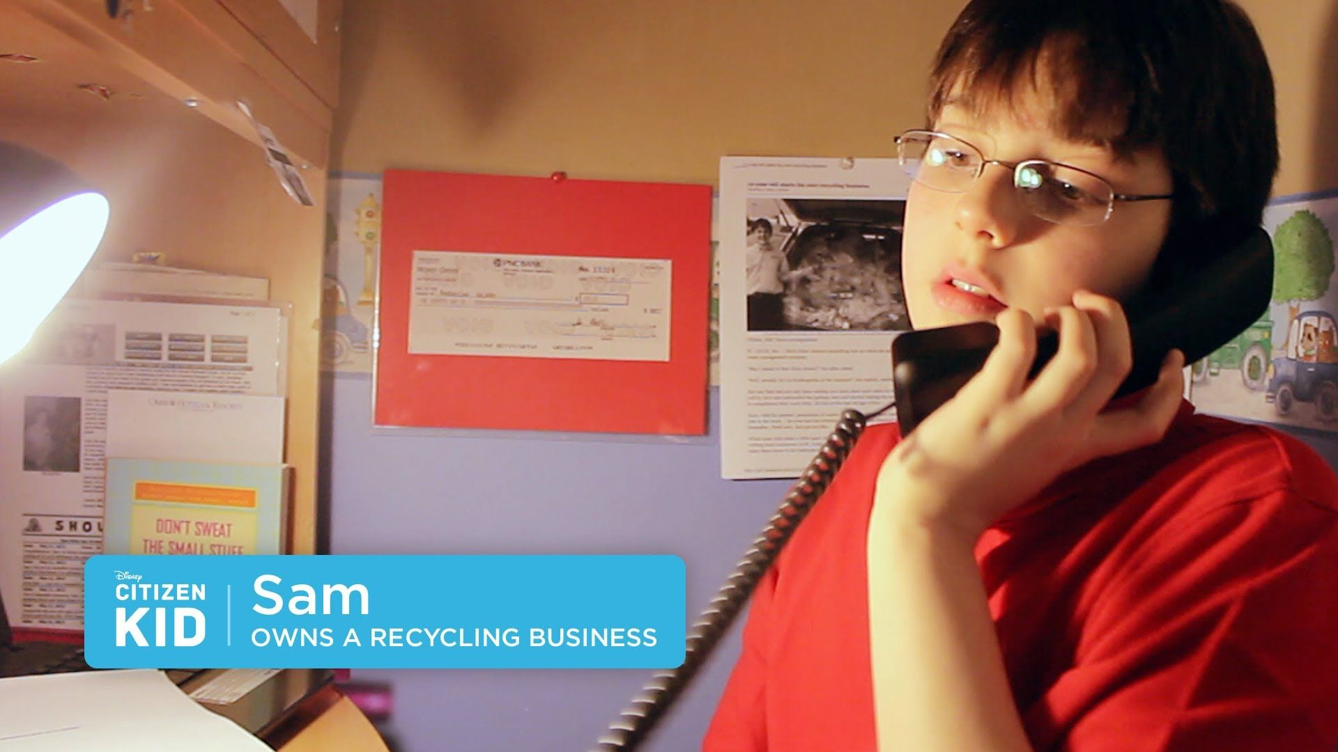 Meet Citizenkid Sam A Young Entrepreneur With A Passion For Saving The Planet