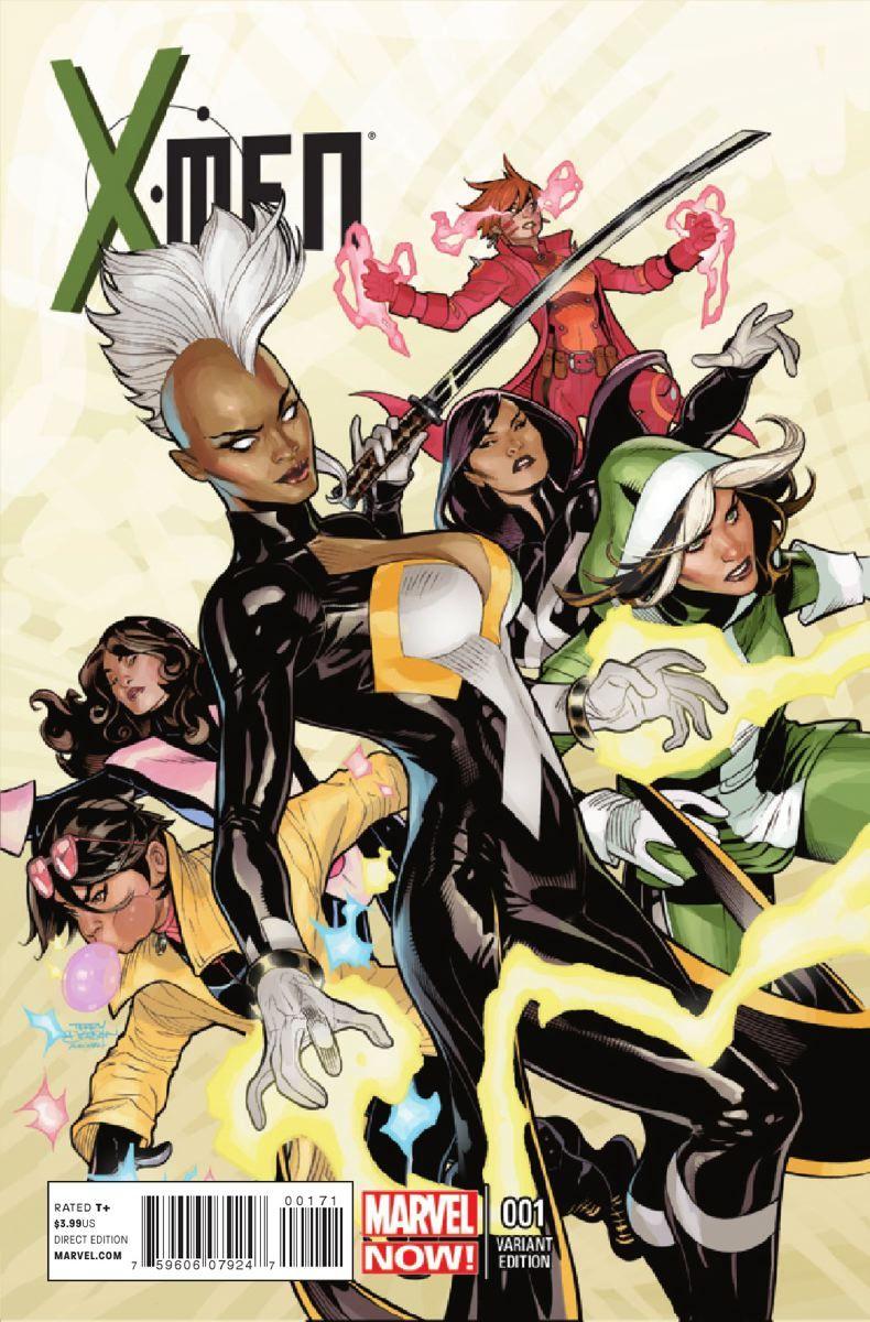Incase you forgot, Brian Wood and Olivier Coipel's X-Men ... X Men Girl Main Character