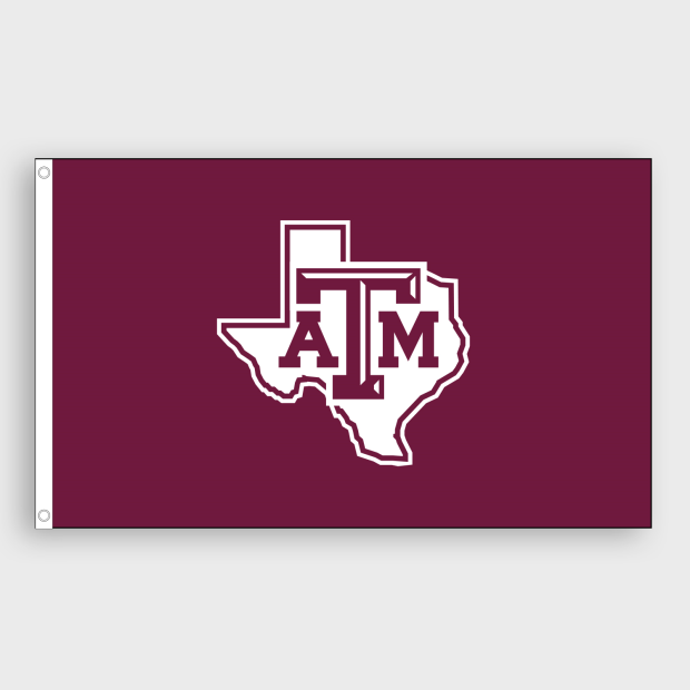 a38cc0360 Lone Star Flag- Maroon #ATM #TAMU #maroon #white #flag #GameDay ...