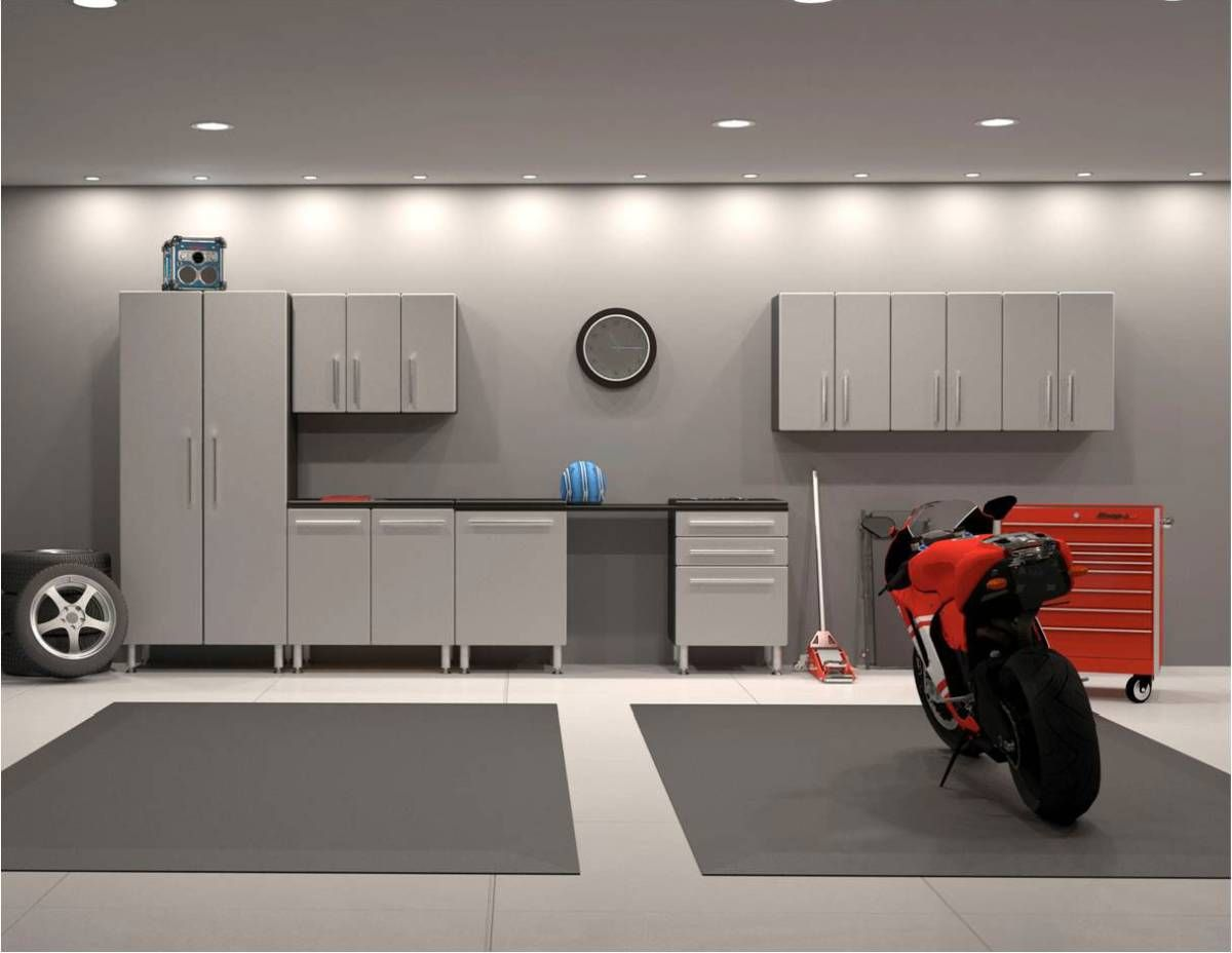25 Uniquely Awesome Garage Lighting Ideas To Inspire You Garage Decor Garage Interior Garage Lighting