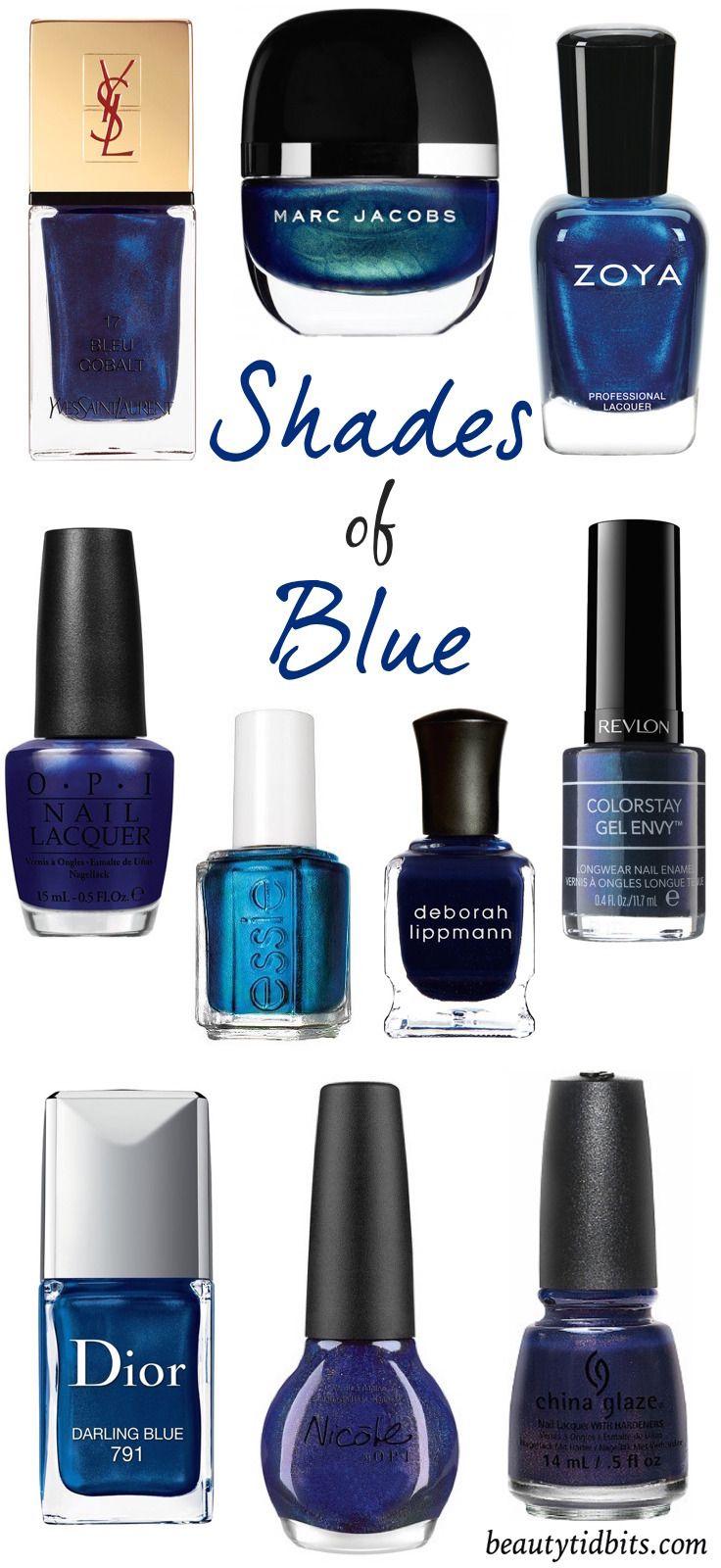 The 10 Best Navy Blue NailPolishes