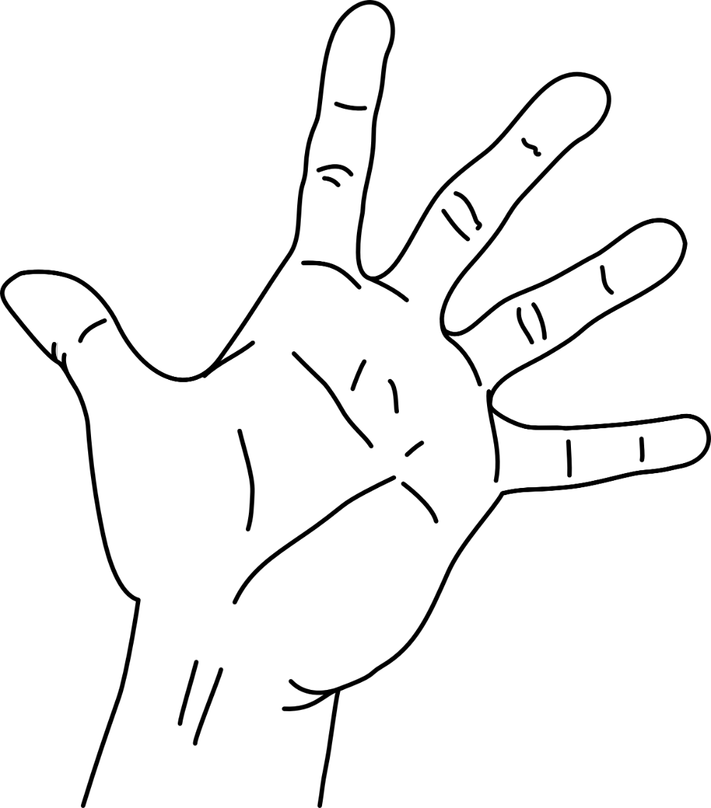 Palm Of Hand Transparent Png Clipart Free Download Palm Of Hand Drawing How To Draw Hands Knitting Hand Health