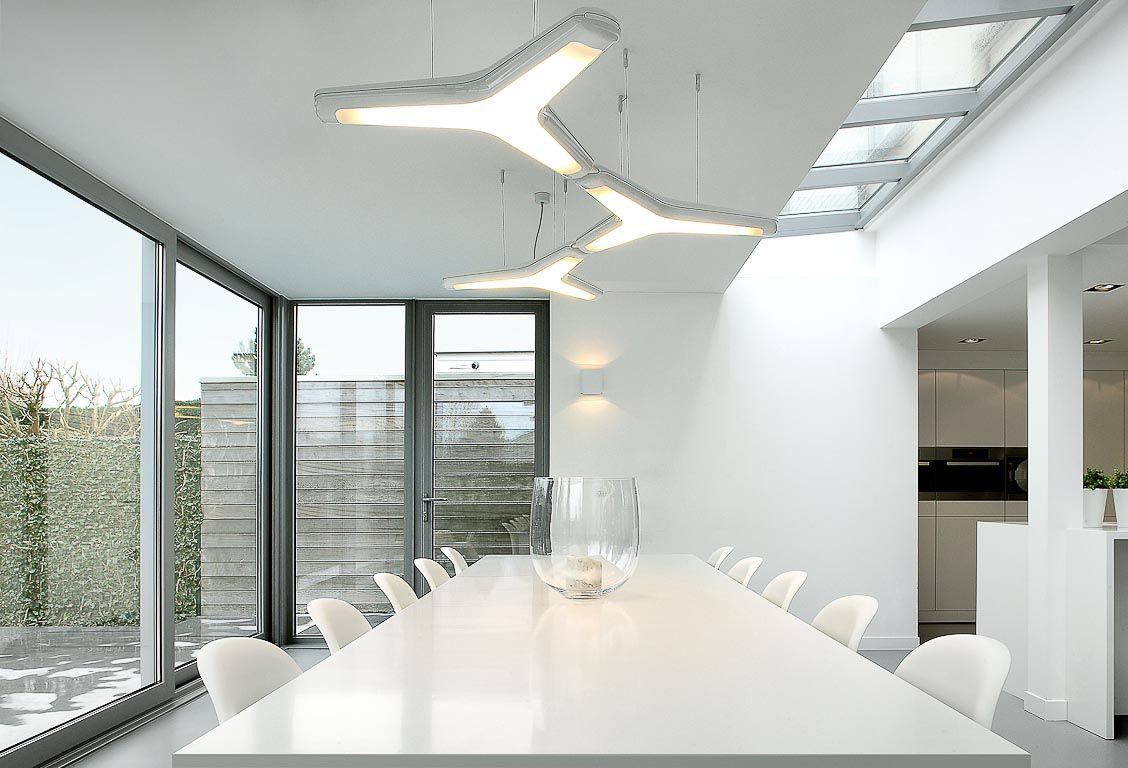 Izar, futuristic light puzzle #supermodular | Living room lighting ...