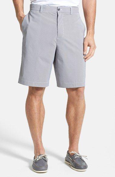Men's Cutter & Buck 'Barclay' DryTec Flat Front Golf Shorts