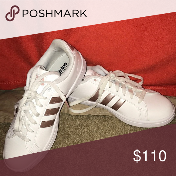 buy online 1c70e e2d7b Superstars rose gold new without tags Super comfy to walk in and never worn  brand new! adidas Shoes Sneakers