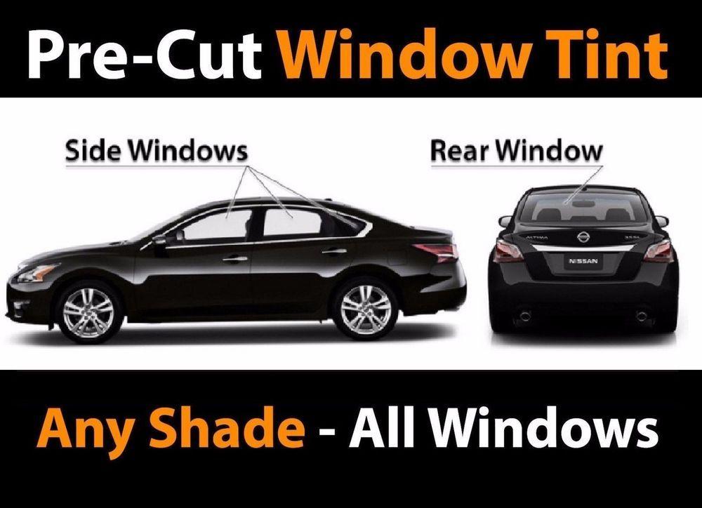 Audi Precut Window Film Any Shade Precut Window Tinting Front Windows Only Window Tint Film Tinted Windows Tints