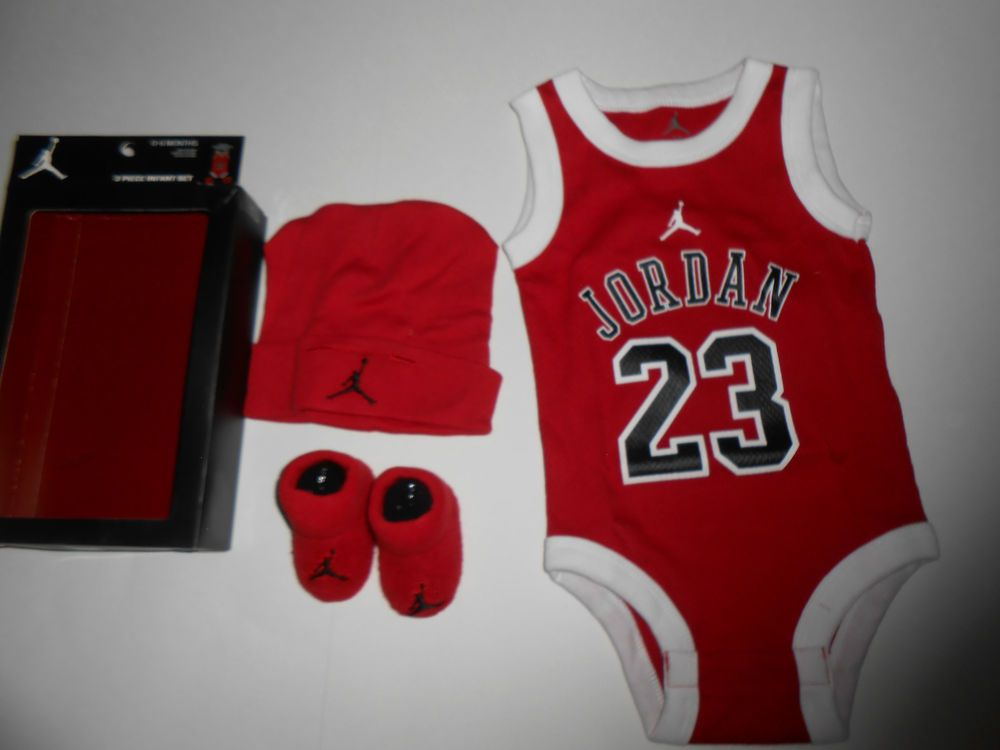 Baby Girl Jordan Clothes Interesting NEW Baby Boy Girl Michael Jordan's Clothes Size 60060060 Months Chicago