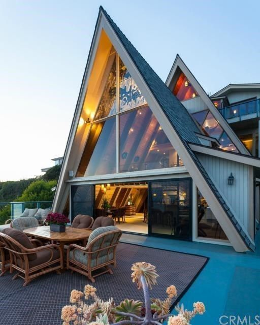 A Frame Looove Aframe Modernhome Outdoorspaces A Frame House Architecture House A Frame House Plans