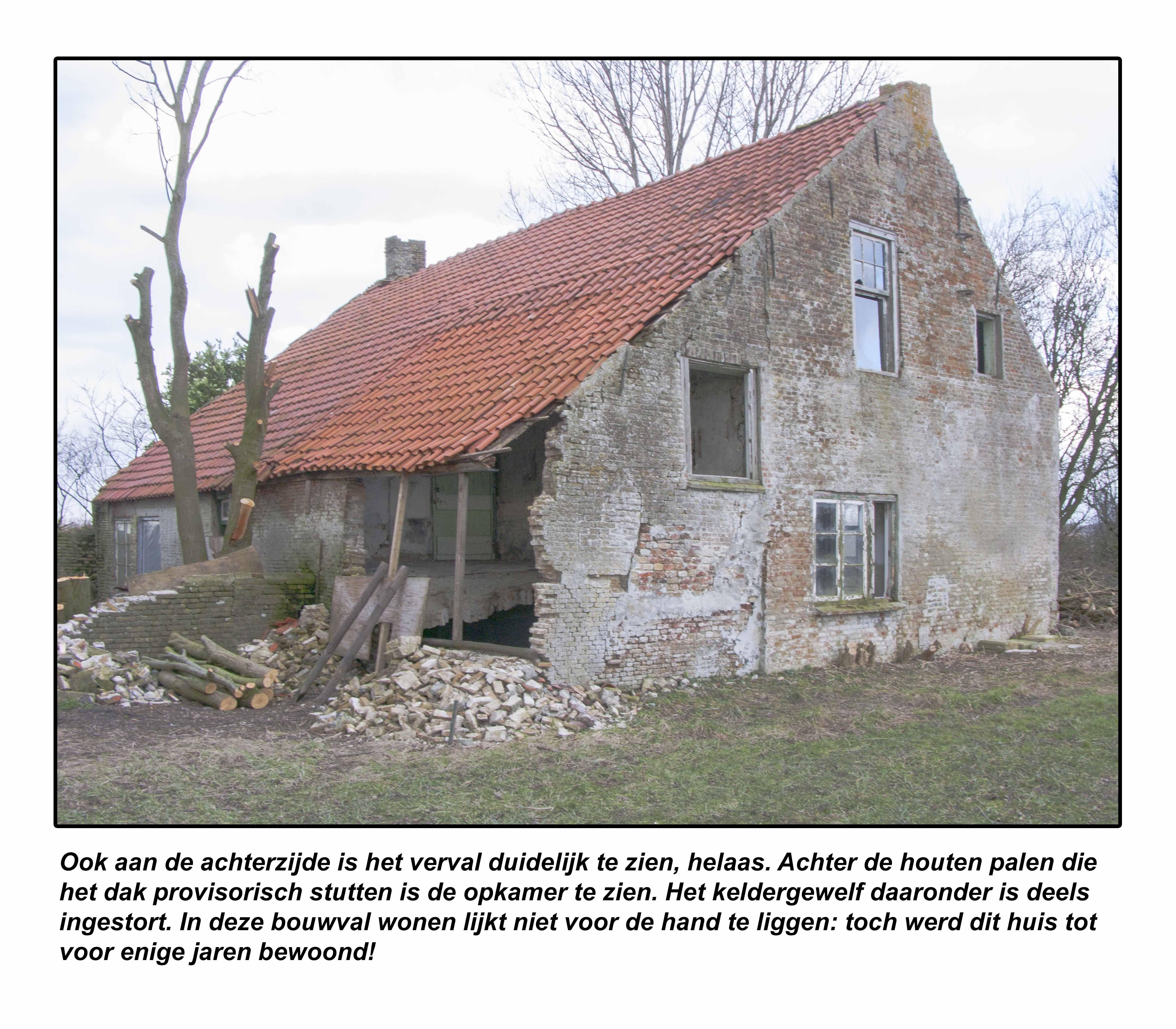 Biervliet vervallen 17e eeuwse boerderij aan de for Boerderij te koop zeeland