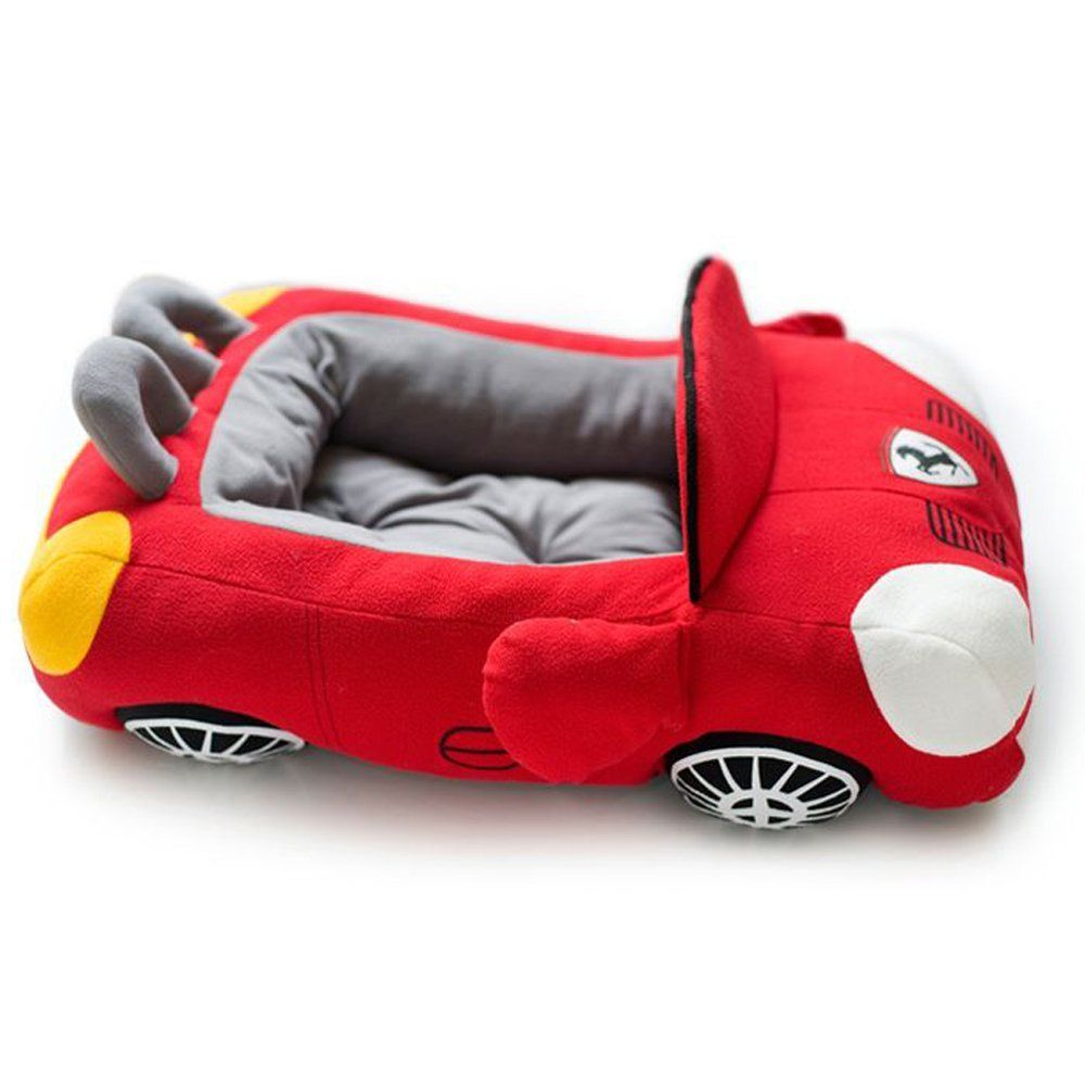 New Red Branded Car Pet Dog Cushion Bed For Puppies Small Animals K9 38 Chihuahua Yorkshire Car Sofa Supplies Red Dog Pet Beds Pet Car Beds Dog Bed Cushion