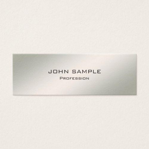 Minimalist professional modern elegant simple mini business card minimalist professional modern elegant simple mini business card accmission Images