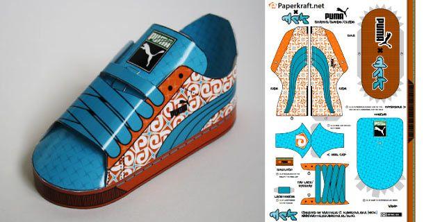 Sneakers Et Teacher PapierMaquette PapierArt Puma En YD9W2IHE