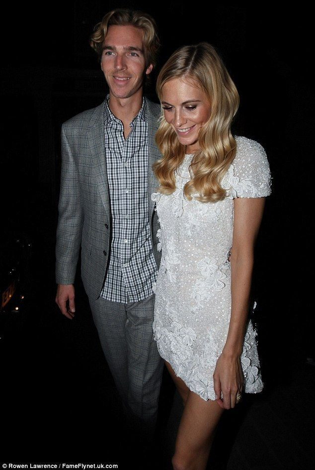 Poppy Delevigne wedding. PARTY DRESS