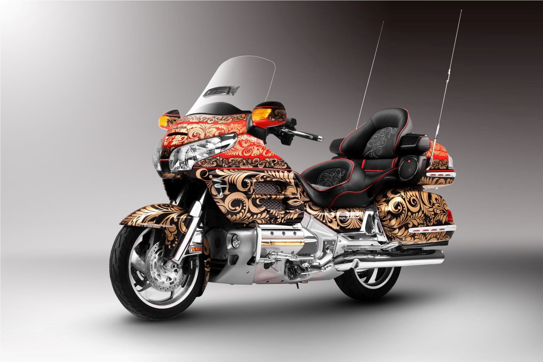 honda goldwing 1800 custom my goldwing gallery pinterest honda and custom motorcycles. Black Bedroom Furniture Sets. Home Design Ideas