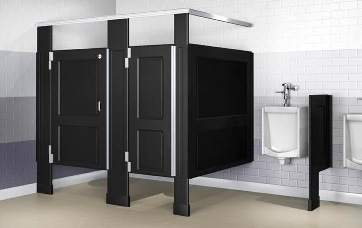 . Bathroom Partitions are the Norm for Any Gen Y Commercial Bathroom