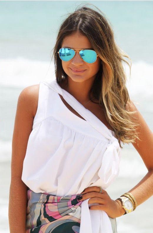 2014 Sunglasses Trends: Bright. Big. Bold.