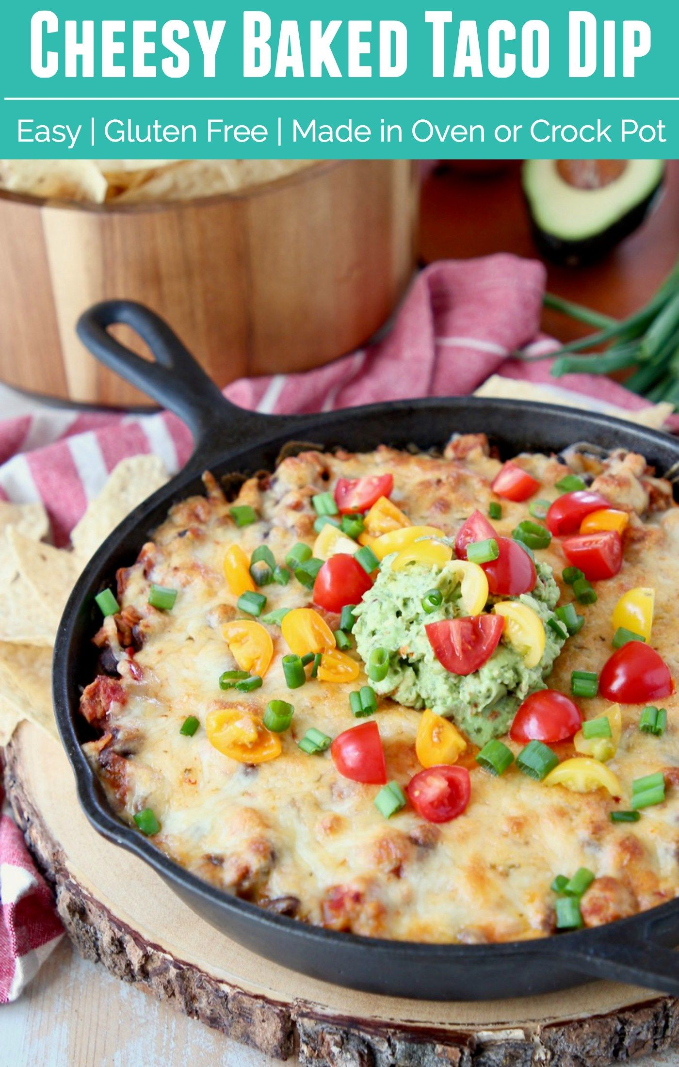 The Ultimate Cheesy Baked Taco Dip Is An Easy Appetizer Made With Layers Of Cream Cheese Taco Seasone Easy Appetizer Recipes Appetizers Easy Appetizer Recipes